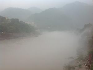 Hot and humid Ganga