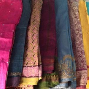 Varanasi silk saris